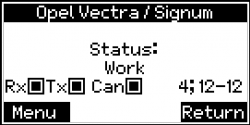 Lizenz elektrische Servopumpe Tester Opel Vectra C, Signum