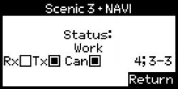 Lizenz Zähler Tester Renault Scenic III + Navi, Megane III