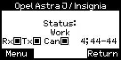 Lizenz Lenkgetriebe Tester Astra J