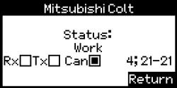 Lizenz Lenkgetriebe Tester Mitsubishi Colt