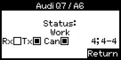 Lizenz Zähler Tester Audi Q7